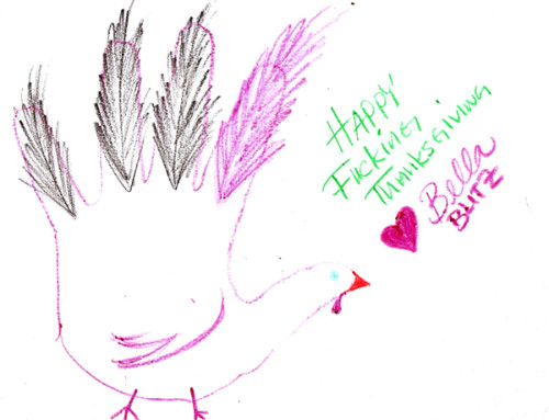 Bella's Hand Turkey