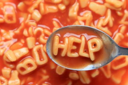 If planning the alphabet fails, alphabet soup is a filling, non-perishable way to say your last goodbyes.