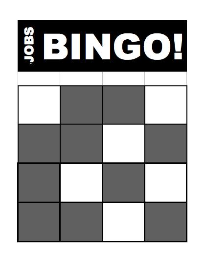 Jobs Bingo card image