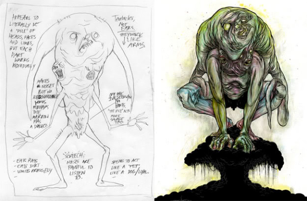 If Alex Pardee's monsters are real, I don't want to know.