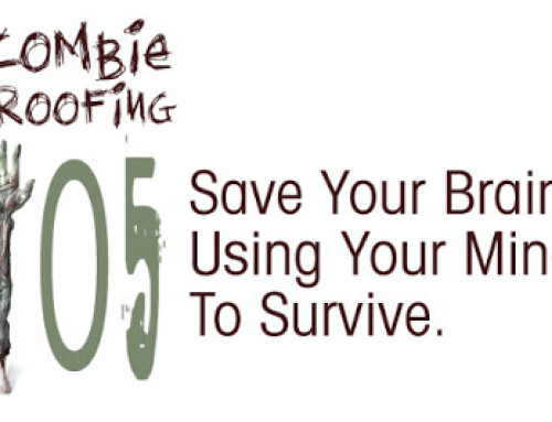 Zombie Proofing 105: Save Your Brain, Using Your Mind to Survive