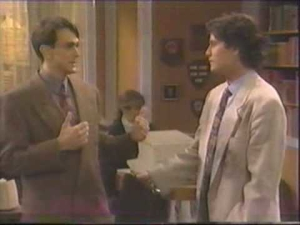 Hank Azaria and William Ragsdale as Jay and Herman