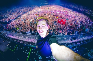 Two-time Top 100 DJs winner Hardwell.