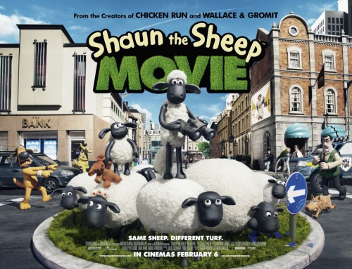SHAUN THE SHEEP MOVIE: if you only see one animated movie this year, make it this one.