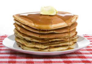 Mitch Hedberg originally wrote the joke about pancaking that I mentioned above.