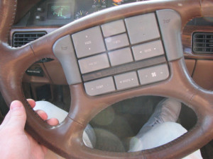 I swear my aunt's car had even more buttons than this.