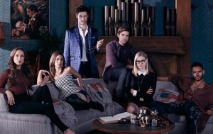 Julia, Margo, Eliot, Quentin, Alice, and Penny: the Magicians