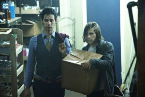 Eliot (Hale Appelman) and Quentin (Jason Ralph)