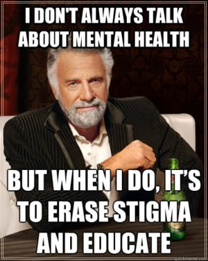 Seriously, though, many eating disorders are mental health issues.