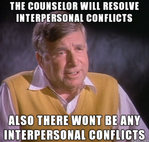 To be fair, not all of Gene Roddenberry's ideas were great either.