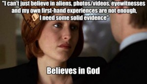 This is one of the things that really annoys me about religious people.