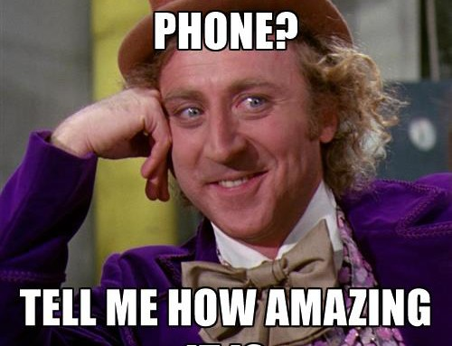 SIX OF THE BEST… things about getting a new phone