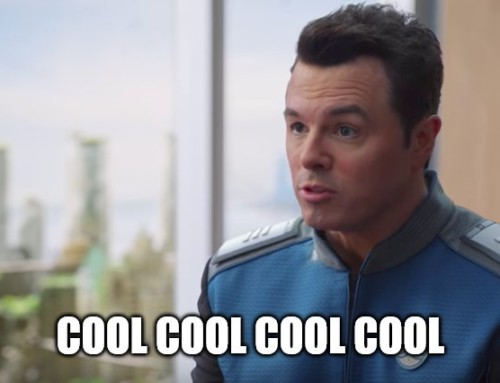 SIX OF THE BEST… episodes of The Orville
